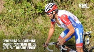 """Critérium du Dauphiné : Madiot """"satisfait de ce qu'a fait Pinot"""""""