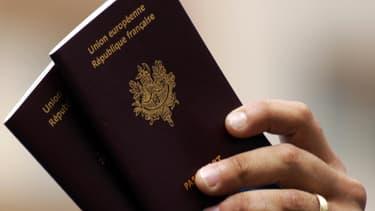 Un passeport français. (Photo d'illustration)