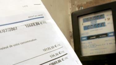 La facture de gaz ou d'électricité sur ce premier semestre pourrait être plus chère d'environ 80 euros, par rapport à d'habitude.