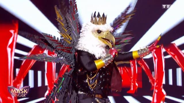 L'Aigle dans Mask Singer