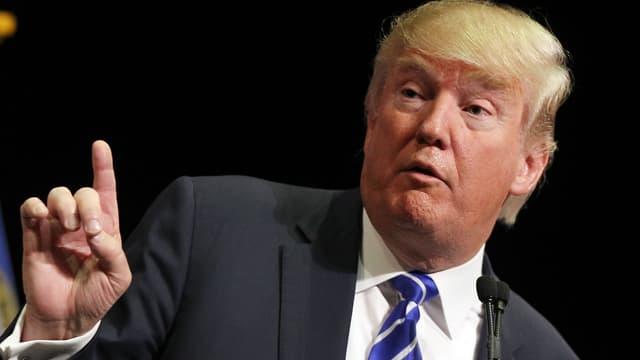 Le candidat à la primaire républicaine Donald Trump, le 8 octobre.