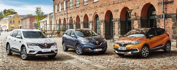 Captur, Kadjar, Koleos ... Dans l'actuelle gamme Renault, il y a des SUV pour tous les 20 cm.