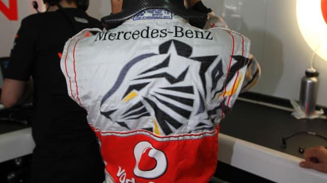 La nouvelle combinaison de Jenson Button