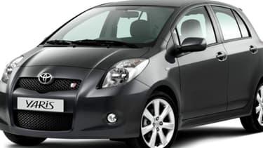 Parmi les millions de véhicules rappelés par Toyota, figure les Yaris.