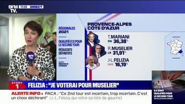 """Régionales en PACA: Jean-Laurent Félizia votera Renaud Muselier """"pour battre Thierry Mariani"""""""