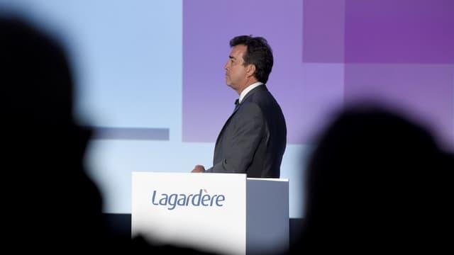 Arnaud Lagardère est de plus en plus contesté