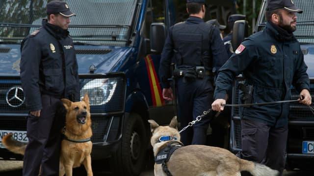 Cinq personnes ont été arrêtées dans le cadre de l'enquête sur un vaste trafic d'armes. (Image d'illustration)