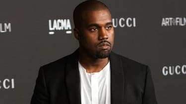 Kanye West lors du LACMA Art + Film Gala à Los Angeles en novembre 2014