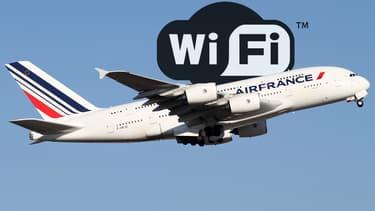 Air France teste actuellement le Wi-Fi dans deux avions en Europe.
