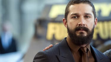Shia Laboeuf en 2014 à Paris.