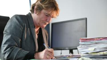 La procureure de Mulhouse, Edwige Roux-Morizot, au tribunal de Mulhouse, le 22 novembre 2018