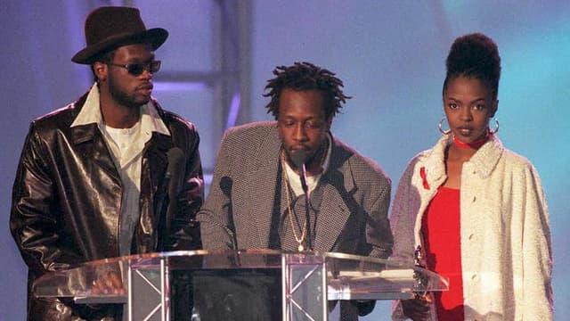 Les Fugees en 1997 aux Brit Awards