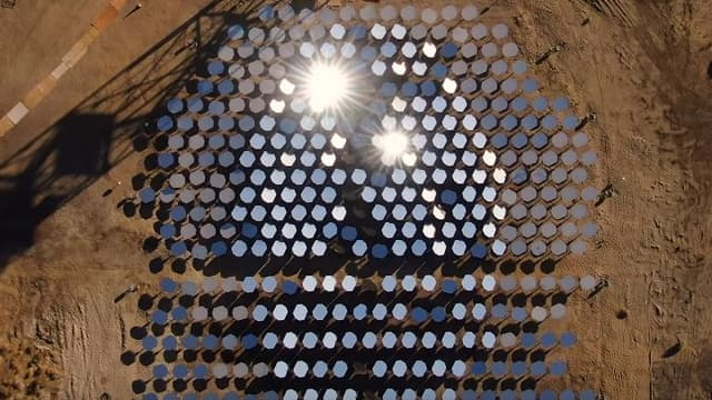Heliogen s'en remet à l'intelligence artificielle et à un jeu de miroirs pour créer de l'énergie.