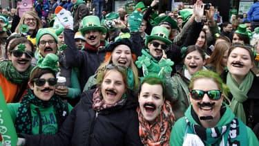 En marge de la parade à Dublin en 2013.