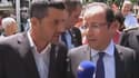 François Hollande s'est rendu dimanche dans les Pyrénées, au chevet des villages dévastés par les inondations.