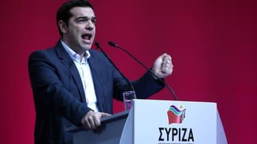 Alexis Tsipras dénonce l'alarmisme déployé par l'actuel Premier ministre Antonis Samaras