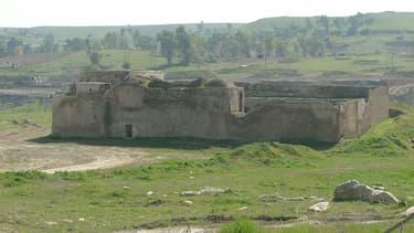 Le monastère saint Elie de Mossoul, en Irak. Photo datée du 18 February 2005.