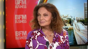 Diane Von Furstenberg, créatrice de la marque éponyme, était l'invitée de Karine Vergniol dans Goûts de Luxe ce vendredi.
