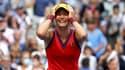 Emma Raducanu après sa victoire en finale de l'US Open