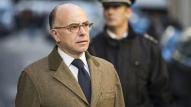 Le ministre de l'Intérieur, Bernard Cazeneuve, le 7 janvier 2016, à Paris.