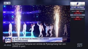 JO 2018 : Le retour en France des héros de PyeongChang !