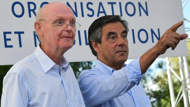Patrick Stefanini et François Fillon