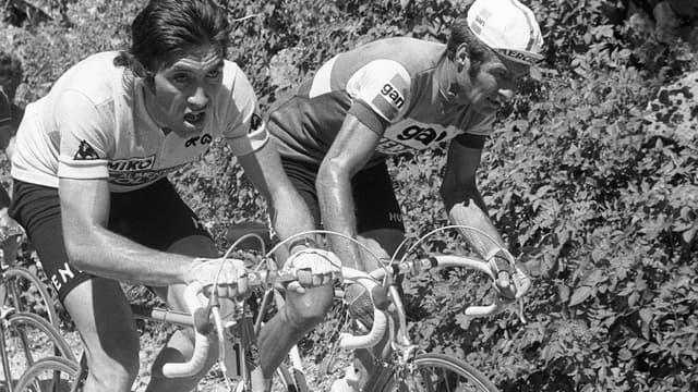 Eddy Merckx, quintuple vainqueur du Tour.