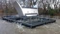 Le parc d'hydroliennes produit 320 kilowatts et sera exploité par Hydrowatt, filiale du producteur d'énergie renouvelable Unit-e.