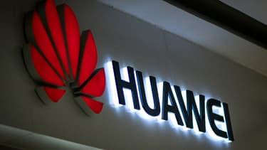 Le logo de Huawei.