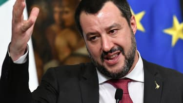 Matteo Salvini (photo d'illustration)