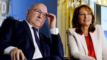 Michel Sapin et Ségolène Royal ont présenté mardi 3 janvier à Paris le processus d'émission de la première obligation verte française.