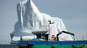 Au total, l'équipage aura récolté près de 800.000 litres d'eau entre mai et juillet, la haute saison des icebergs.