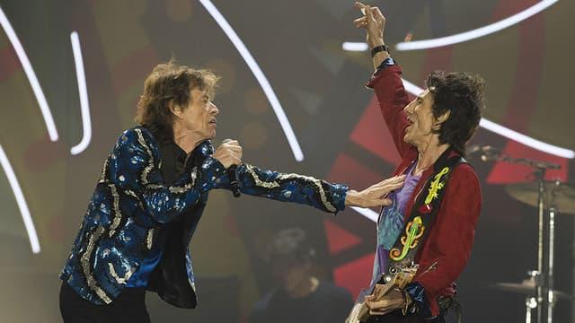 Les Rolling Stones en concert au Brésil, le 24 février 2016.