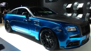 Les préparateurs (comme ici Vredestein) n'ont pas besoin de s'acharner sur les couleurs des Rolls-Royce, les clients de la marque le font très bien eux-mêmes.