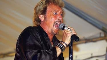 Gilles Bonin en concert à Lentilly, dans le Rhône.
