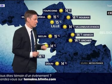 Météo Nord-Pas-de-Calais: Du soleil toute la journée et des températures estivales