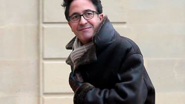 Aquilino Morelle à l'Elysée le 18 avril 2014.