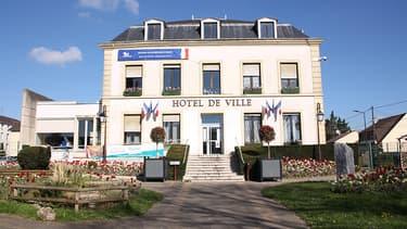 L'hôtel de ville de Montfermeil.
