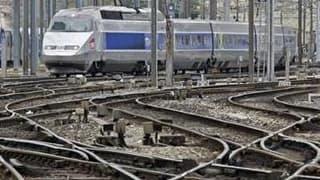 La grève se poursuivra vendredi à la SNCF pour la troisième journée consécutive mais l'entreprise publique prévoit un retour progressif à la normale du trafic. /Photo prise le 7 avril 2010/REUTERS/Jean-Paul Pélissier