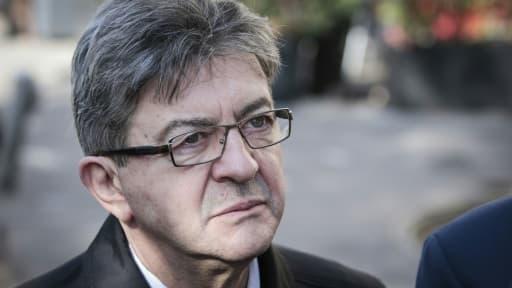 Le candidat de La France insoumise à la présidentielle, Jean-Luc Mélenchon, le 24 février 2017 à Paris