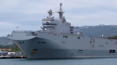 Les contrats pour la livraison de deux Mistral français à Moscou ne seront pas concernés par d'éventuelles nouvelles sanctions européennes contre la Russie.