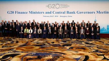 """Les ministres des Finances des pays les plus riches de la planète craignent """"le choc d'une éventuelle sortie du Royaume-Uni de l'Union européenne""""."""