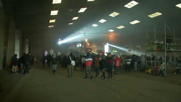 Images de la rave party à Lieuron dans la nuit du 31 décembre 2020 au 1er janvier 2021