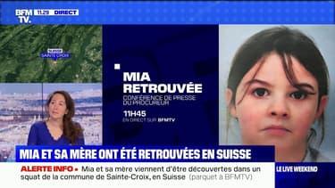 Mia et sa mère retrouvées dans un squat en Suisse: le point sur l'enquête
