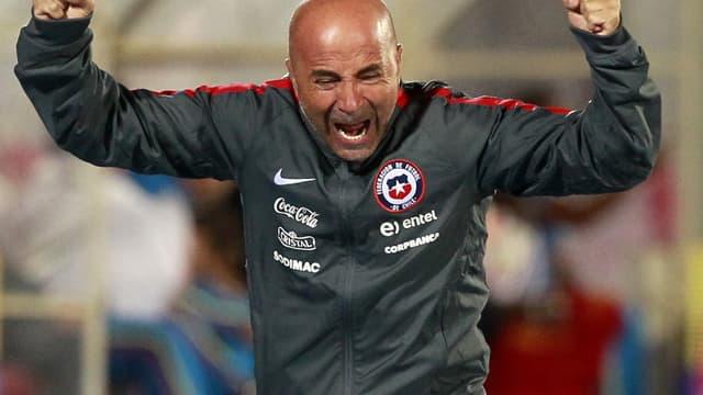 Jorge Sampaoli, l'ancien sélectionneur du Chili