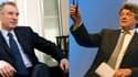 François Bayrou, président du MoDem et Jean-Louis Borloo, président de l'UDI.
