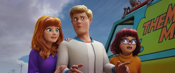 Daphné, Fred et Vera dans Scooby