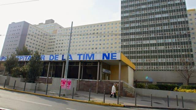 L'hôpital de la Timone à Marseille.