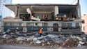 A Christchurch, la deuxième ville de Nouvelle-Zélande. L'état d'urgence a été décrété après qu'un violent séisme s'est produit dans la nuit de vendredi à samedi à une trentaine de kilomètres de cette ville de 350.000 habitants, occasionnant d'importants d