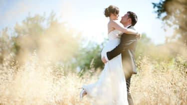 Jeunes mariés. (Illustration)